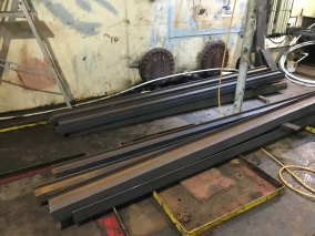 Steel into engine room for phase 3 structural changes (1)