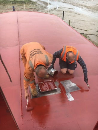 Upper Saloon Roof Painting (3)