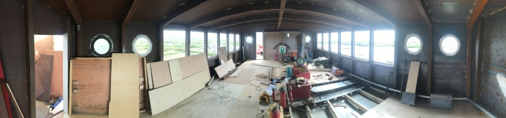 Pano of Upper Saloon